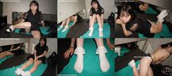 Street legs socks snaps Photobook + Video Akari