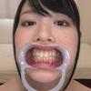 [Tooth fetish] I observed Shida Yukina's teeth!