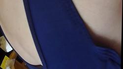 【貧乳】私服とスクール水着で姿の比較 @素人コスプレ個人撮影会