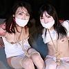 Photoset[#2154] Ayaka and Mio in Double Bondage