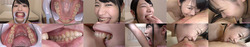 [With bonus video] Shida Yukina's teeth and bite series 1-3 together DL