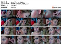 [Ear fetish video] Glamorous Anna has big ears