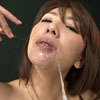 Perverted pacifier women who shed mucous membrane saliva that pulls the thread and throat deeply by themselves