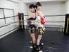 痛苦踢拳击002 Hinako Hinata vs Miujima