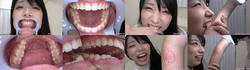[With bonus video] Mihina's teeth and biting series 1-2 collectively DL