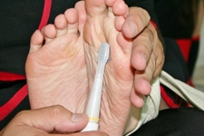 [Photos] feet soles tickling pictures of phosphorus casual wear stockings-lifetime feet of
