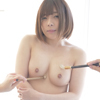 We massaged the super cute popular actress Mari Natsu Chan with a wet brush! !