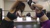痛苦混合武术和跆拳道小月Aisha vs Hikari Ogawa
