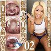 Tongue pin long tongue gal sorrow silver teeth 5 mouth mouth opening and ASMR tooth brushing