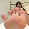 【CF】足裏を見せる女 #163
