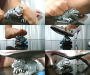 [Video] Foot soles treasure hall ★ Pantyhose monster Niginigi crash video ☆ Seika
