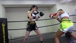 Agony kick boxing 001 Yu Yu Kawasaki vs Mayumi Kanzaki