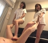 ■ I who can not move under the anesthesia of 4 Hayashikawa Yuki and Nanami Yua was made electric massage by two beauty nurses and forced ejaculation.