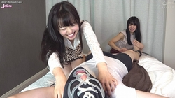 ① 【FF / M】 Laughter laughs at the reaction of Senharu Miyazawa & Mai Yahiro Mai! LOL to see the erection! Don't hesitate to be merciless